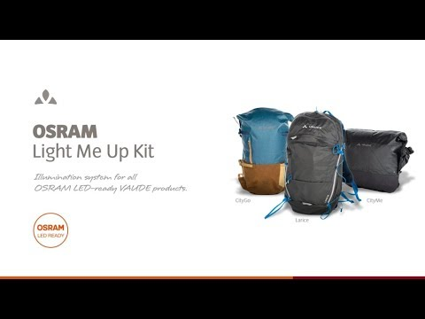 VAUDE OSRAM Light Me Up Video